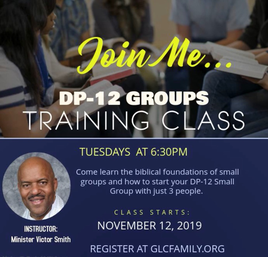 DP-12 TRAINING CLASS - Minister Victor Smith